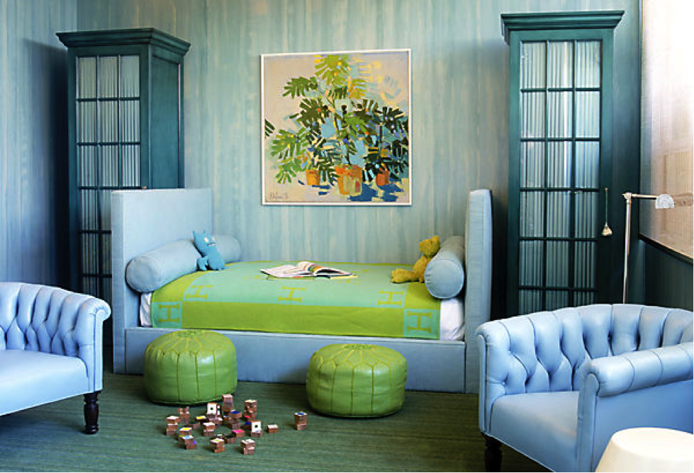 analogous colors in a room images