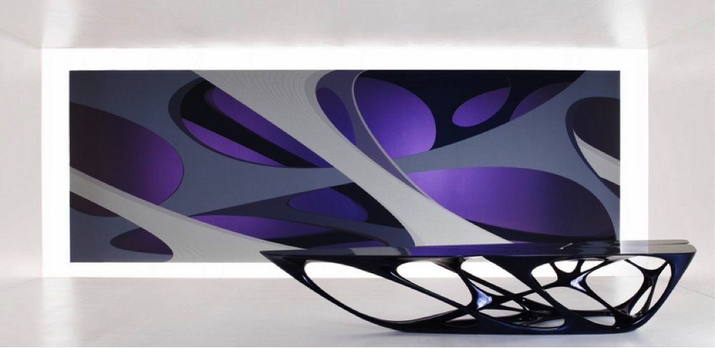 Zaha hadid ahead of her time cities design for Mesa table design by zaha hadid for vitra